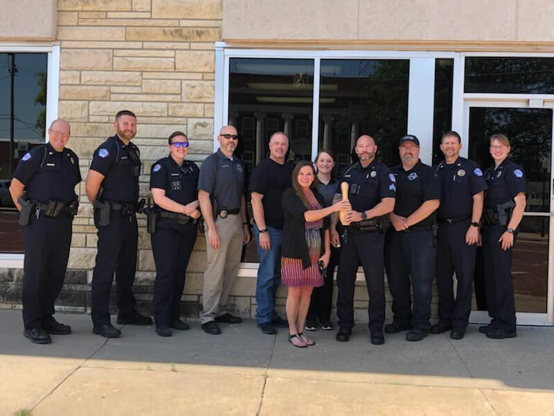 ACPD is first runner-up in BBBS fundraiser