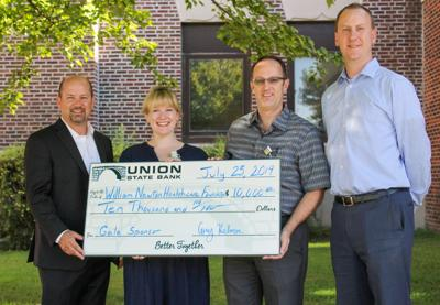 USB pledges $10,000 to Winfield hospital