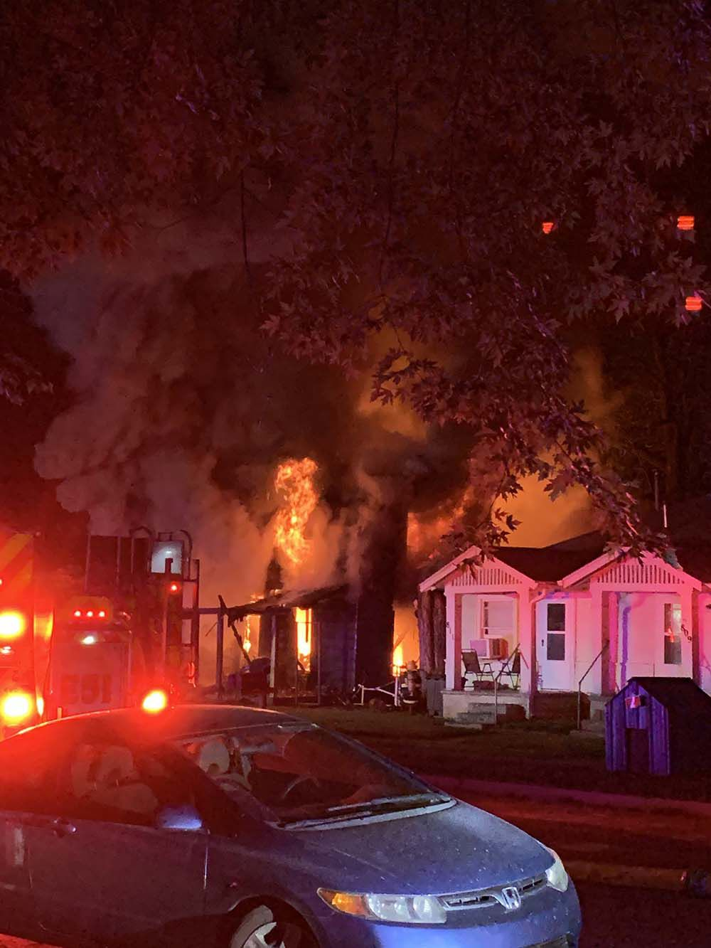 Residents safe after structure fire in Ark City