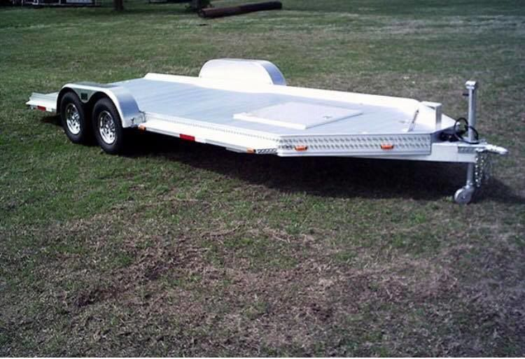 Loaded trailer stolen from local business