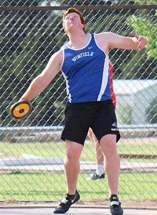 Gold medals abound at league track and field meets