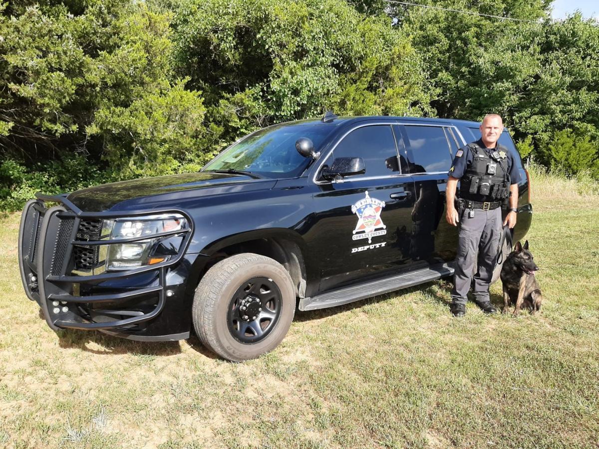 'Deputy' Taz joins Sheriff department