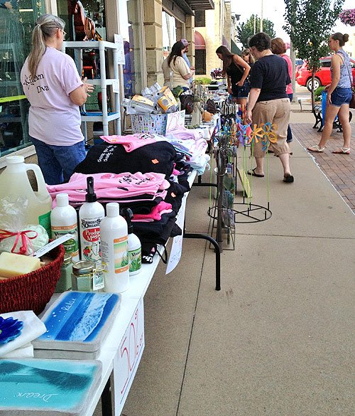 Sidewalk Sale at Hometown True Value and Bradbury Kitchen & Home