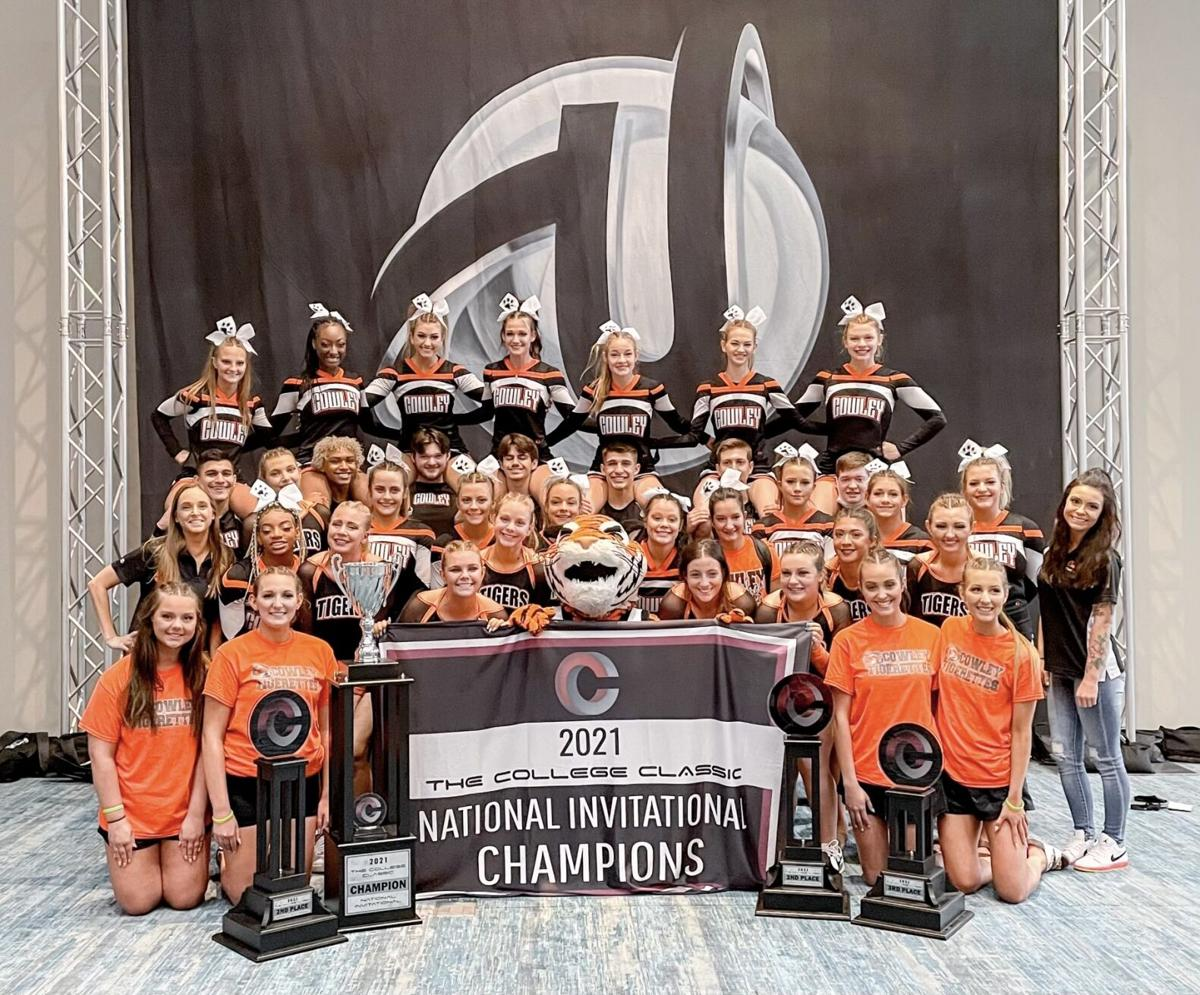 Cowley mascot is national champion