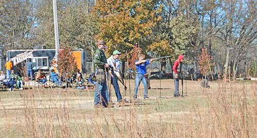 Tigers host to trapshooting meet
