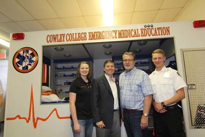 Cowley College becomes first community college visited by Kansas Lieutenant Governor