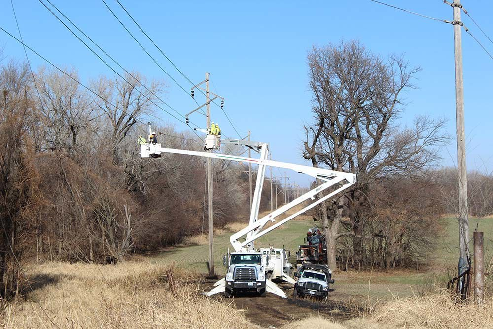 Wind causes power outages, fires