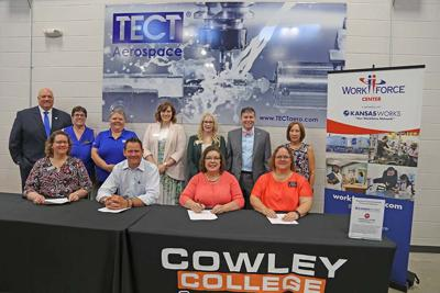 TECT Aerospace and Cowley College create registered apprenticeship program
