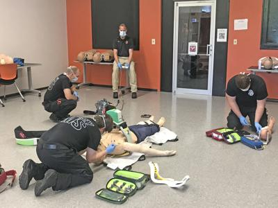 Cowley paramedic students return to the classroom