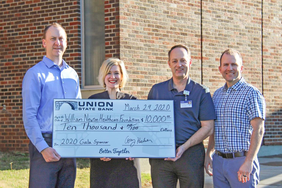 USB reaches $100k in gifts to hospital