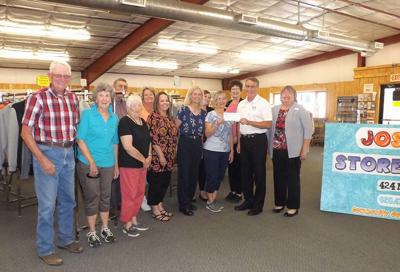 RCB donates to Burden business