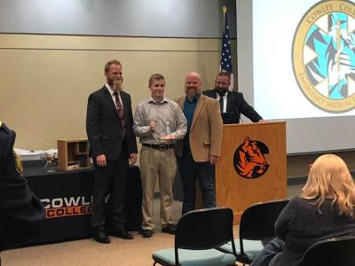 Graduation held for students in Cowley's paramedic program