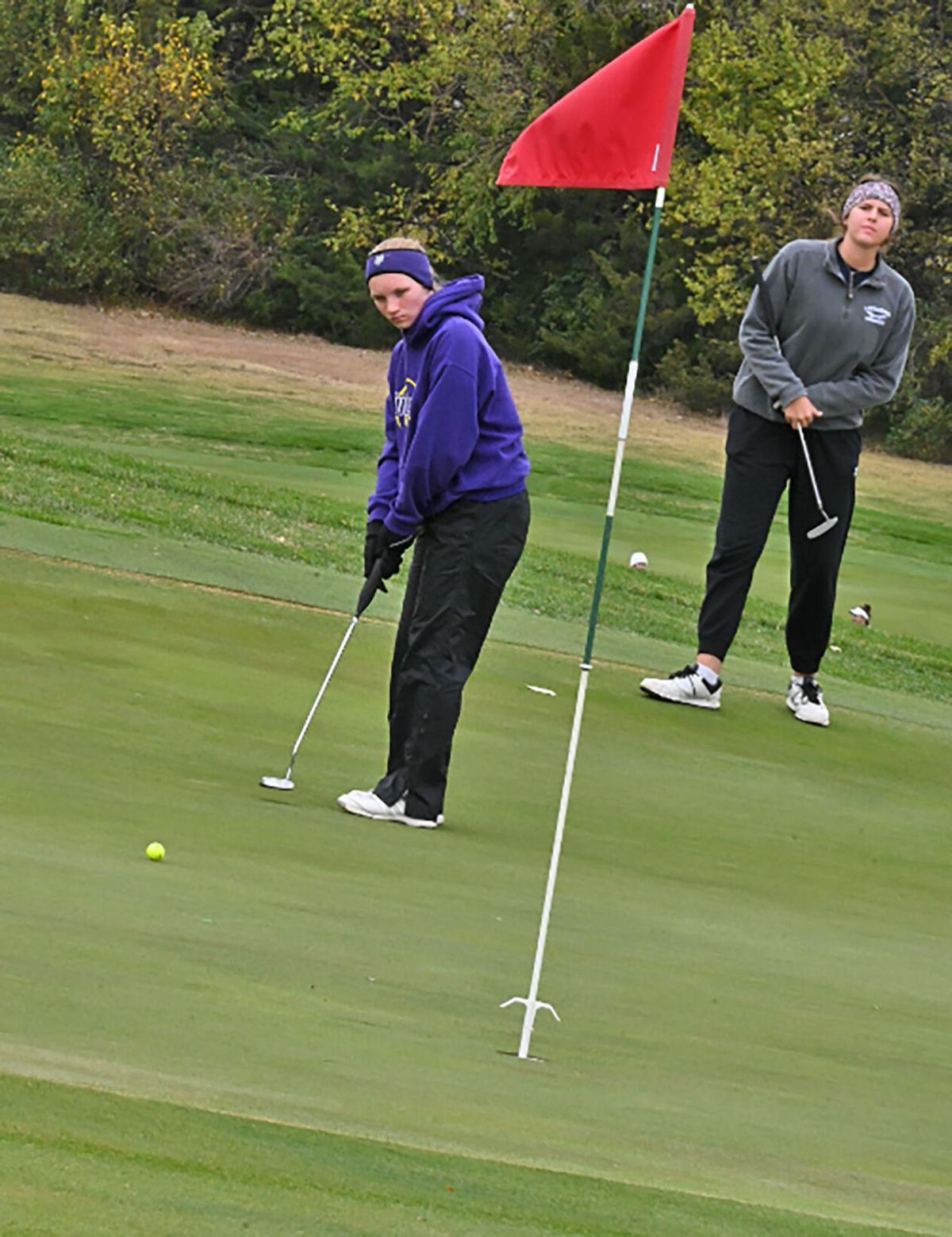 Winfield Lady Vikings capture KSHSAA Class 4A State girls golf title