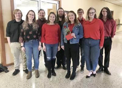 CC Singers brighten people's day