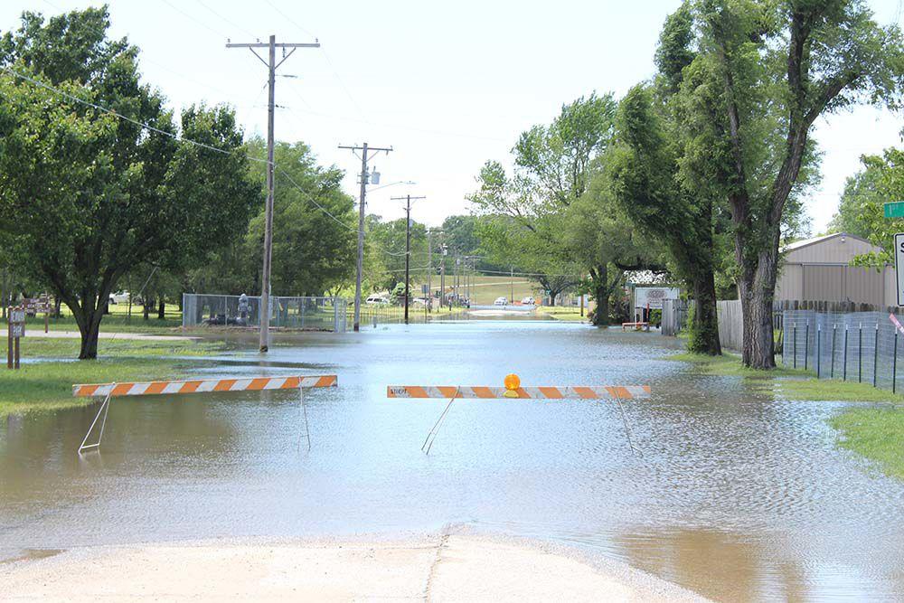 Flooding slams region again