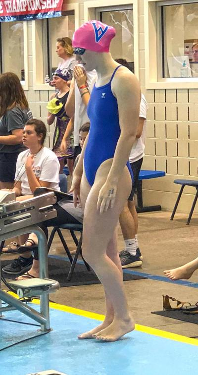 Young swimmers get their feet wet