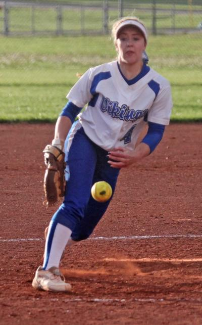 Pitcher-second baseman Aleigha Gale anchors all-league first team