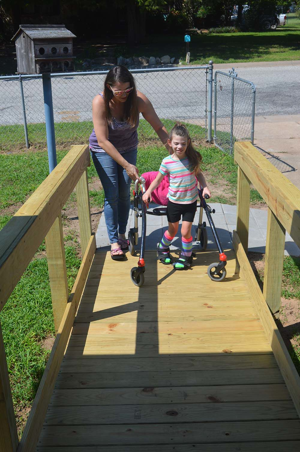 Community ramps up help for girl with rare syndrome