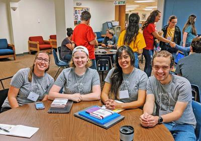 PTK members attend Leadership Conference