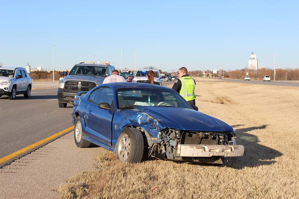 One injured in accident at movie theatre intersection