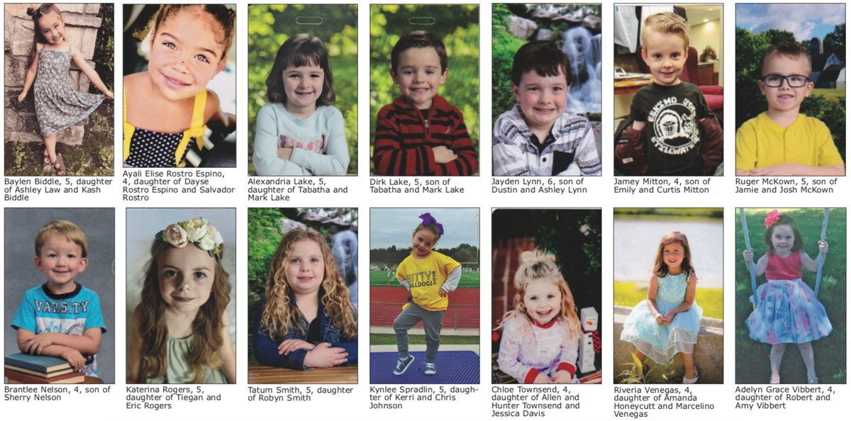 Little Miss and Mister Arkalalah contestants