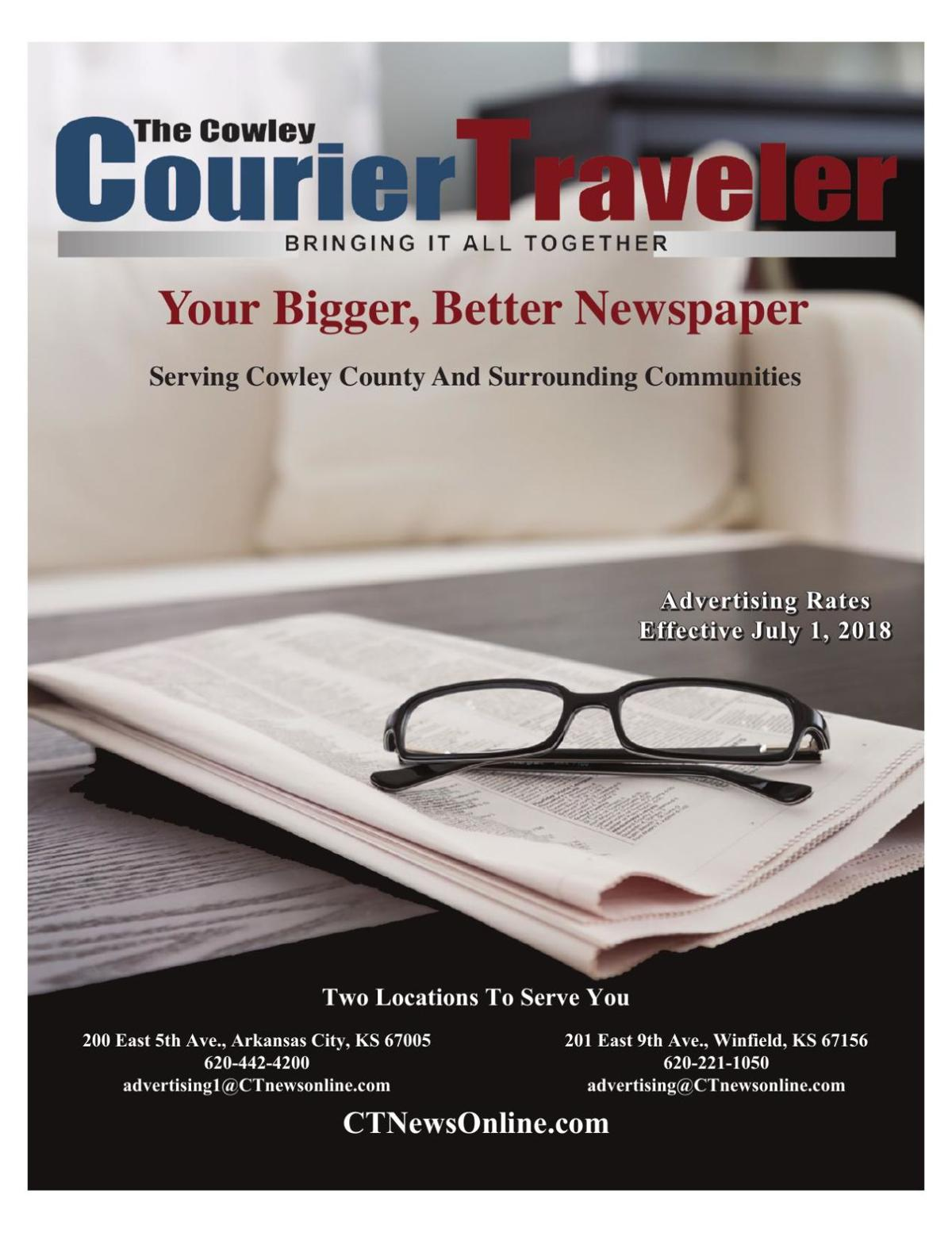 CourierTraveler Rate Card