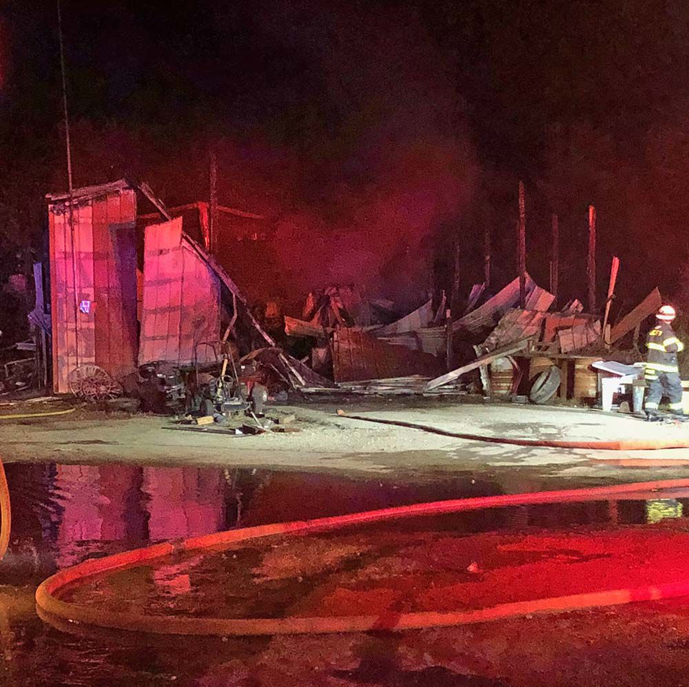 Suspected arsonist arrested near Ark City