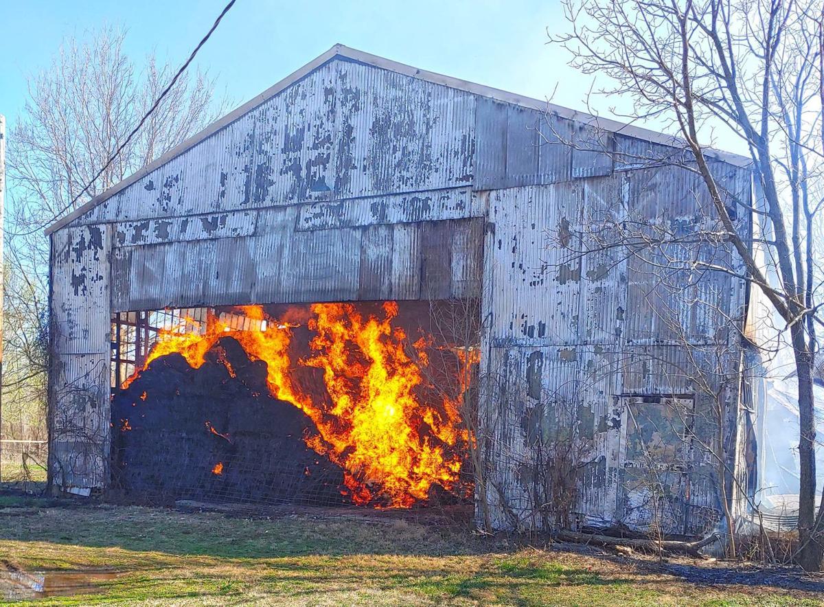 Barn fire brings back tragic memories