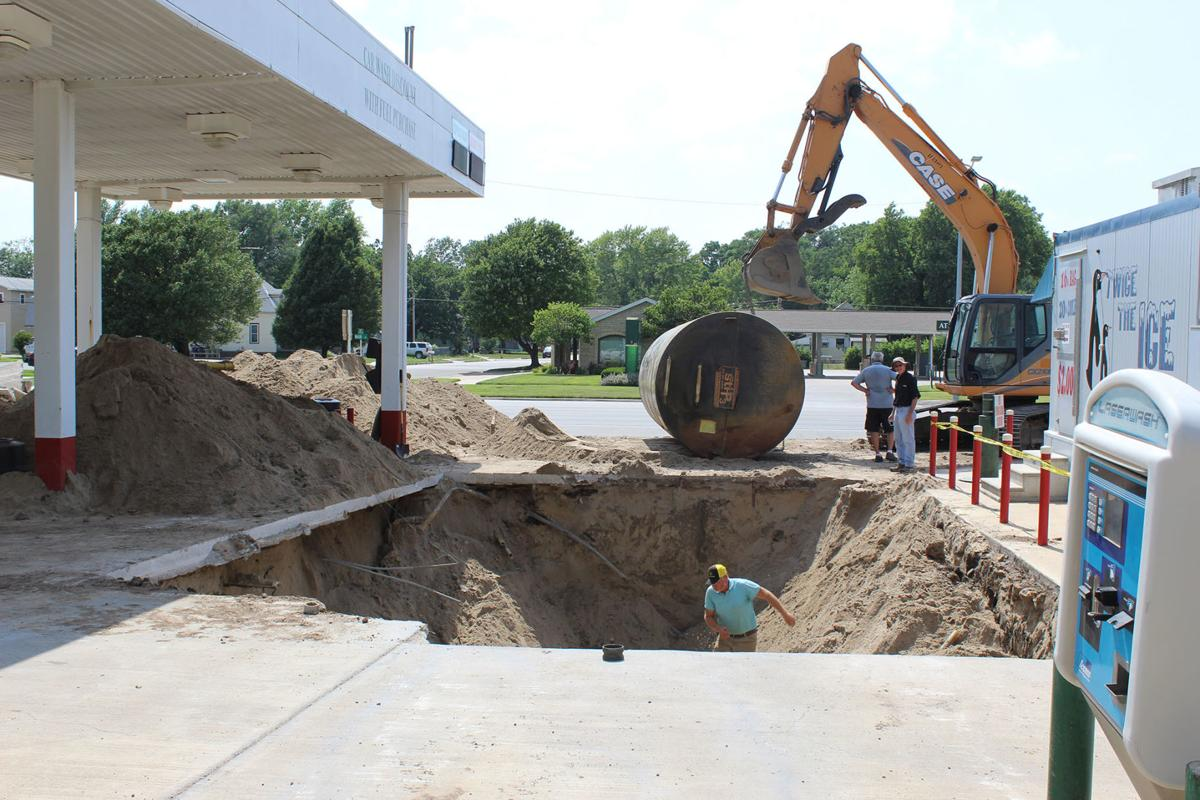 Tank removal