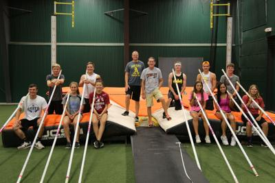 Learning the pole vault from a living legend