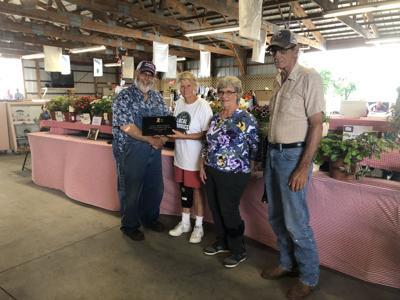 Spielman recognized at Cowley County Fair