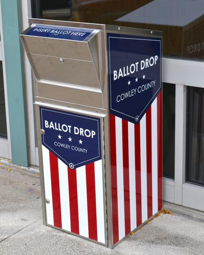 Ballot boxes available for mailed ballots