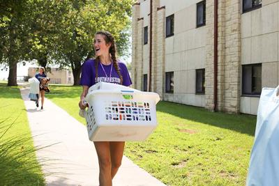 Large incoming class leads to record enrollment at Southwestern