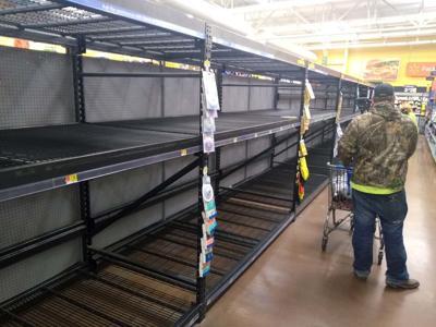 Virus panic-buying frustrating shoppers