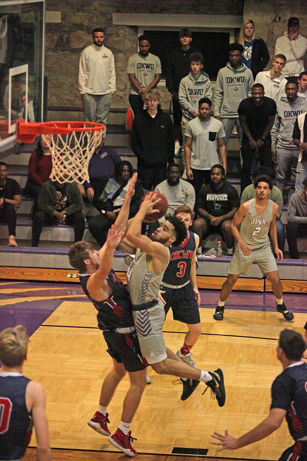 Moundbuilders top Oklahoma Wesleyan in another OT thriller