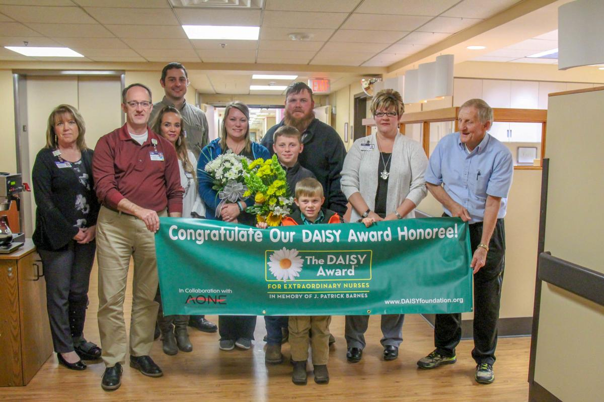 Andes receives WNH DAISY Award