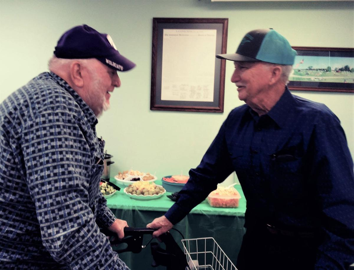 Boucher celebrates 90th birthday