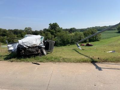 Three injured in wreck on bypass in Ark City