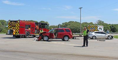 Multiple injury accidents in 24 hours, one arrest
