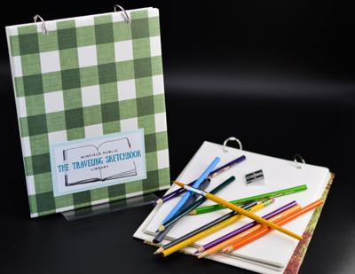 WPL announces community art project 'The Traveling Sketchbook'
