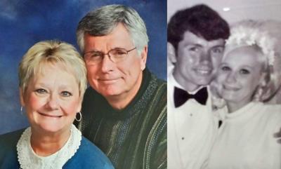 Moores celebrate golden wedding anniversary