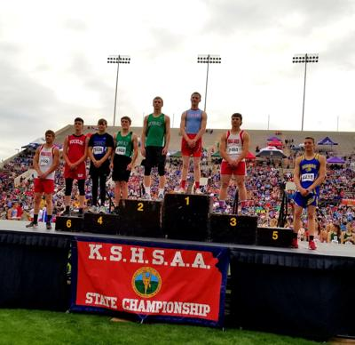 Cook wins 1A boys pole vault in record-setting fashion