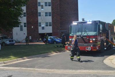 Apartments evacuated due to fire in Ark City