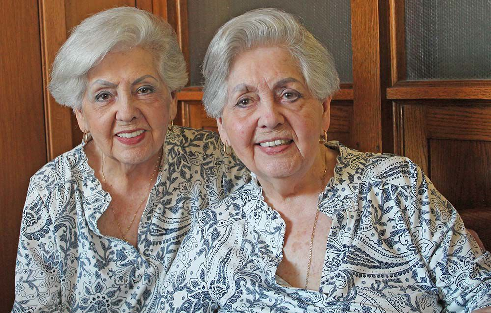 Twins stay together 90 years despite miles
