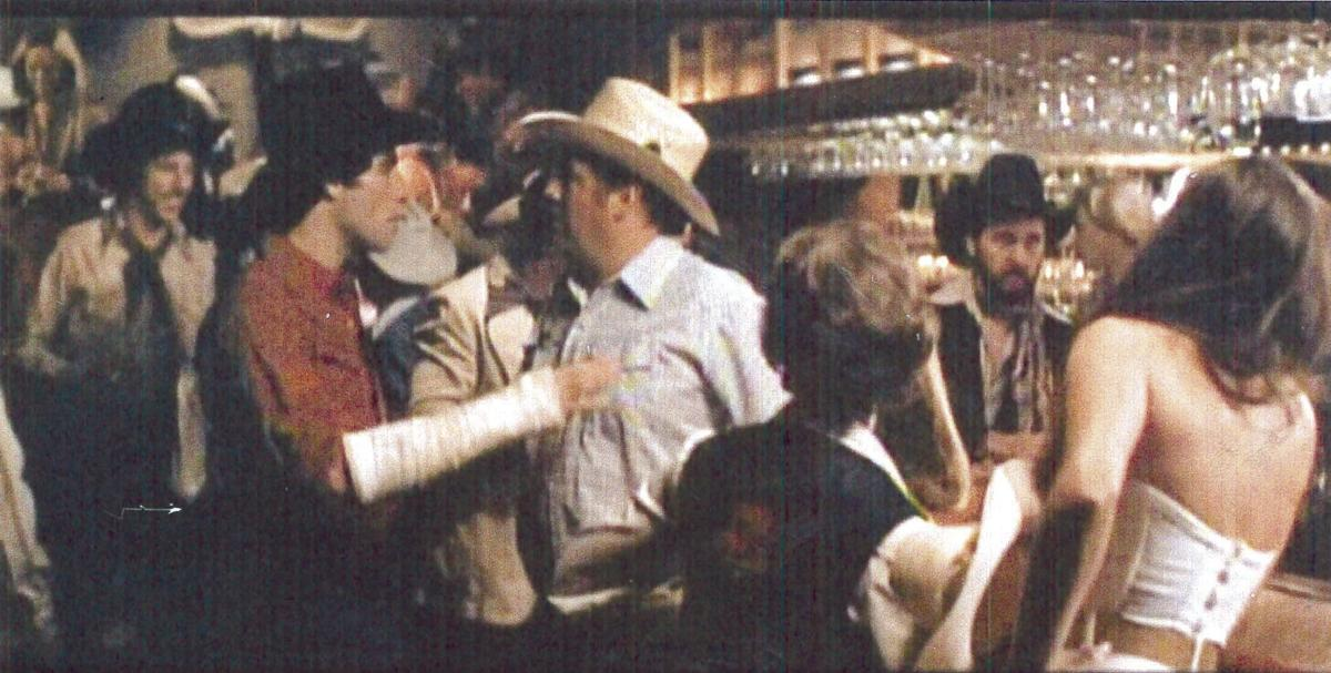 A bucket list moment; on the set of 'Urban Cowboy'