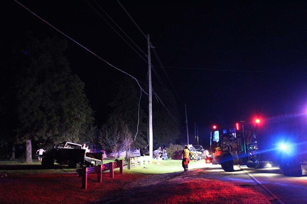 One injured in late-night rollover accident