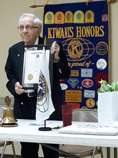 Winfield Noon Kiwanis honors Foster for 50 years of service