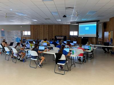 Middle school IT Camp gets under way; high school IT Camp approaching