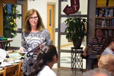 Holly Pond High School Counselor Karen Rowell