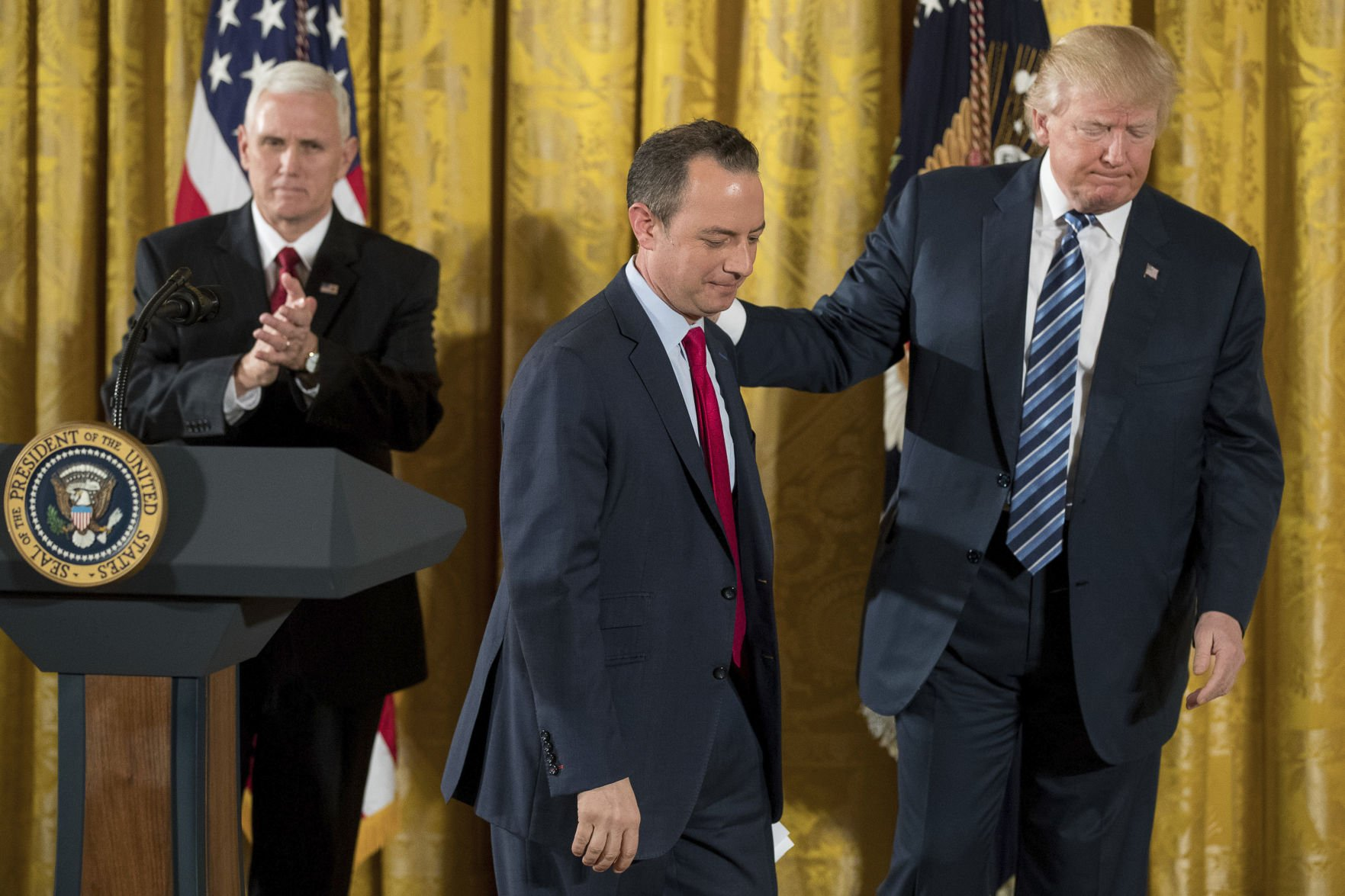 Priebus Out as Chief of Staff, Replaced with Trump 'Star' John Kelly